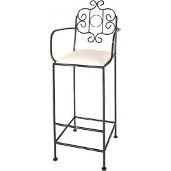 Grace French Traditional Bar Stool 24 inch found on Bargain Bro Philippines from Kitchen Source for $212.22
