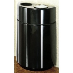 United Receptacle americana outdoor waste receptacle, 24 gallons found on Bargain Bro from Kitchen Source for $1043.17