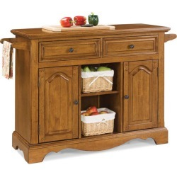 Home Styles Country Casual Large Kitchen Cart