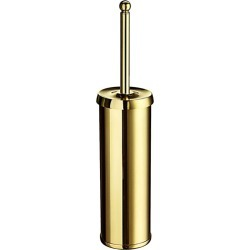 Smedbo Chateau Polished Brass Free Standing Toilet Brush Set 16+ inchL found on Bargain Bro India from Kitchen Source for $118.40
