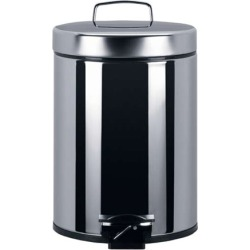 Brabantia 1.3 gallon steel step can with liner found on Bargain Bro India from Kitchen Source for $27.20