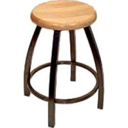 Holland Misha Swivel 36 inch Bar Stool with Vinyl Seat