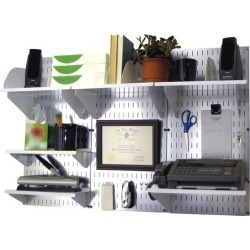 Desk / Office Center Organizer Kit, White found on Bargain Bro India from Kitchen Source for $189.63