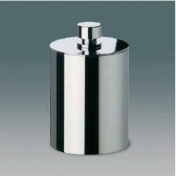 Nameeks Windisch Accessories Cotton Ball Jar in Nickel