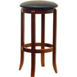 Winsome Wood 30 Black Swivel Stools in Set of 2 16W x 30-7/20H