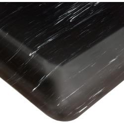 Wearwell Smart Tile Top UltraSoft Anti-Fatigue Mat, 3' x 5' x 7/8 Thick, Black