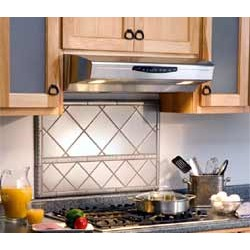Broan Allure II almond range hood, 30 inchW x 20 inchD x 7+ inchH found on Bargain Bro Philippines from Kitchen Source for $280.78
