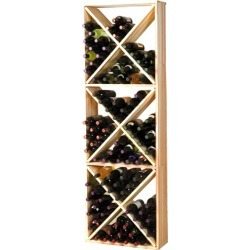 Wine Cellar Innovations - 132 Bottles - Solid Diamond Cube Wine Rack found on Bargain Bro Philippines from Kitchen Source for $451.50