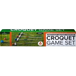 Wooden Croquet Game Set