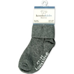 Koala Kids Basic Grey Baby Socks 2 - 3 Years of Age