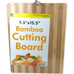 Striped Bamboo Cutting Board