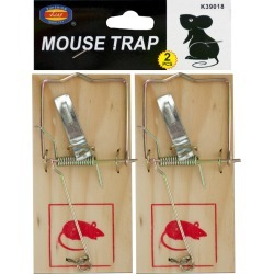 Wooden Mouse Traps