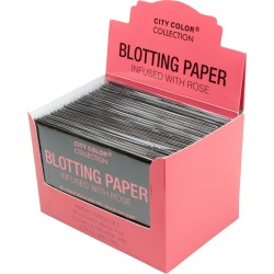 Blotting Paper Infused with Rose in Countertop Display
