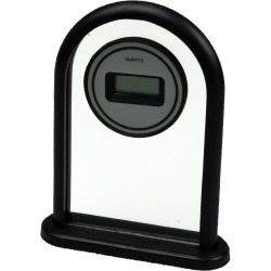 Transparent Standing Desk Clock found on Bargain Bro from koleimports.com for $0.59