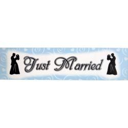 Just Married Wedding Banner