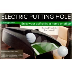 Electric Golf Putting Hole