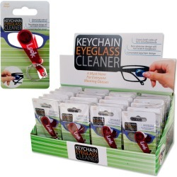 Key Chain Eyeglass Cleaner Countertop Display found on Bargain Bro from koleimports.com for $0.79