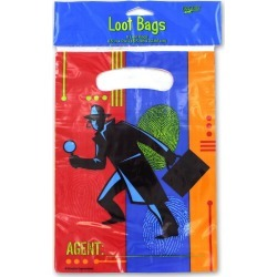 Top Secret Cellophane Treat Bags
