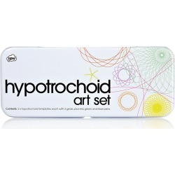 Hypotrochoid Art Set in Tin found on Bargain Bro India from koleimports.com for $1.50
