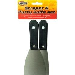 Scraper & Putty Knife Set