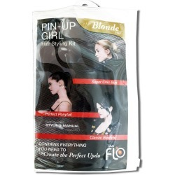 Lava Flo Blonde Pin-Up Girl Hair Styling Kit