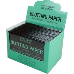 Blotting Paper Infused with Green Tea in Countertop Display