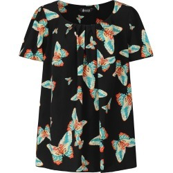 Lady V London Top - Butterfly Black found on Makeup Collection from Lady Vintage for GBP 13.08