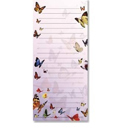 Magnetic List Pad: Butterfly List Pad