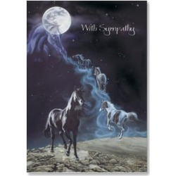 Sympathy Card for Horse: The Loss of Your Dear Companion