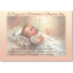 Baptism Card: Rejoicing with you on this special day! w/ Acts 2:39