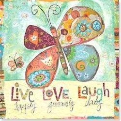 Magnet: Live Laugh Love