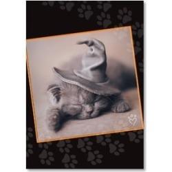 Halloween Card: Happy Meowloween!