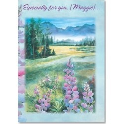 Feel Better Card: Mountains of prayers for health; w/ Psalm 121:5