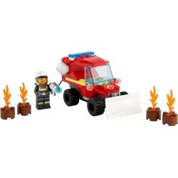 Fire Hazard Truck found on Bargain Bro from The Lego Store US for USD $7.59