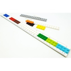 LEGO Buildable Ruler found on Bargain Bro India from The Lego Store US for $15.99