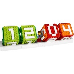 LEGO® Iconic Brick Calendar found on Bargain Bro India from The Lego Store US for $19.99
