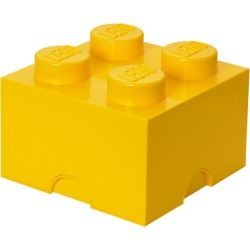 LEGO® 4-stud Yellow Storage Brick found on Bargain Bro India from The Lego Store US for $19.99