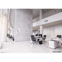 Modern Office Building Interior Wallpaper Mural by Limitless Walls | Small 5�5� W x 4�3� H | Standard Canvas Fabric found on Bargain Bro India from limitless walls for $161.15