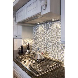"""Kitchen Stove And Backsplash Wallpaper Mural by Limitless Walls 