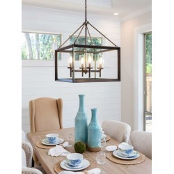Wallpaper Mural Dining Room Table And Pendant Light Fixture In New Luxury Home Table Is Set With Napkins by Limitless Walls   St