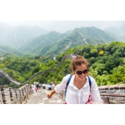 Limitless Walls China Travel At Great Wallpaper Tourist In Asia Walking On Famous Chinese Tourist Destination And Attraction In  found on Bargain Bro Philippines from limitless walls for $161.15