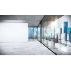 Management Office Wallpaper Mural by Limitless Walls | Small 5�5� W x 4�3� H | Standard Canvas Fabric found on Bargain Bro Philippines from limitless walls for $161.15