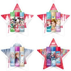 Star Ornament Lip Balm Collection found on MODAPINS from Lip Smacker for USD $19.00