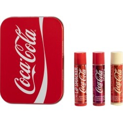 Coca-Cola 3 Piece Lip Balm Tin found on MODAPINS from Lip Smacker for USD $5.50