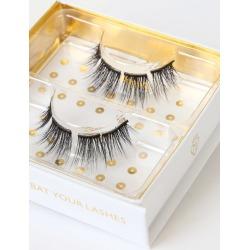 Ahmana 3D Black Silk False Eyelashes | Lulus found on MODAPINS from Lulus for USD $28.00