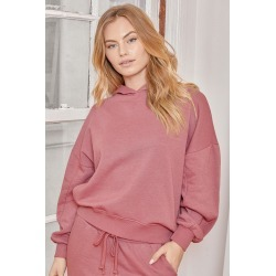 Boat House Mauve Pink Pullover Hoodie | Lulus