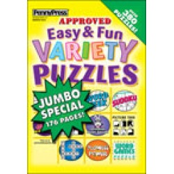 Easy & Fun Variety Puzzles found on Bargain Bro Philippines from magazineline.com for $23.97