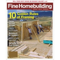 Fine Homebuilding found on Bargain Bro India from magazineline.com for $38.00