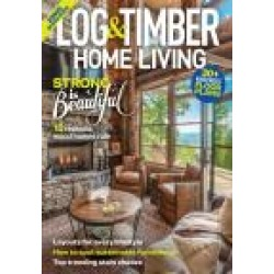 Log Home Living found on Bargain Bro India from magazineline.com for $22.95