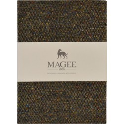 Magee 1866 Green Donegal Tweed Notebook A6 found on Bargain Bro UK from Magee 1866